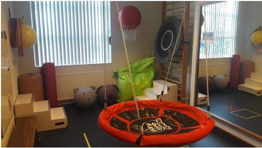 Kinderruimte Fysiotherapie Maas
