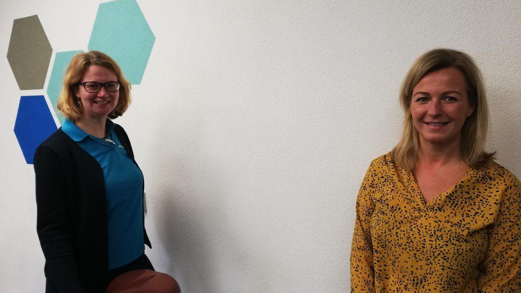 Nieuwe collega's Fysio Maas Sofie & Ilona